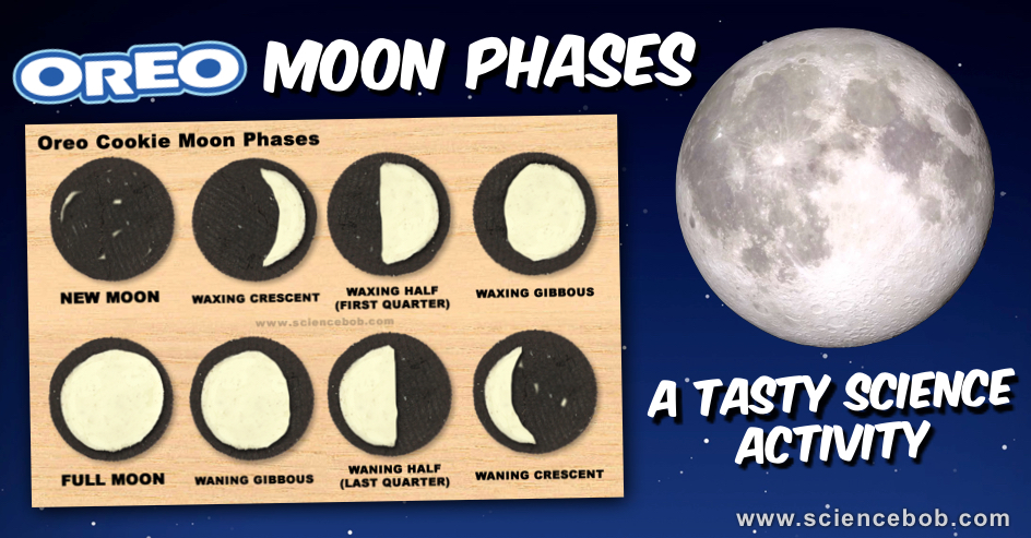 Oreo Cookie Moon Phases - ScienceBob.com