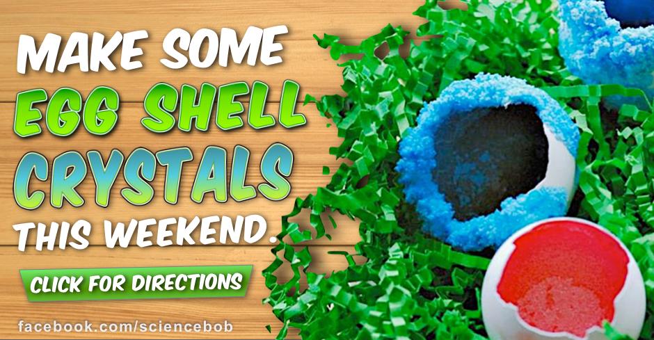 Eggshell geode crystals sciencebob com