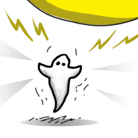Make A Static Powered Dancing Ghost Sciencebob Com