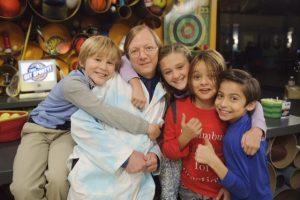Science Bob on Nicky, Ricky, Dicky, and Dawn