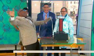 Science Bob, John Cena, and Al Roker on The Today Show