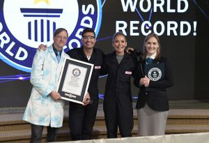 Guiness World Record on Live wth Kelly and Ryan